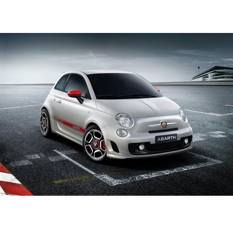 Tendine parasole oscuramento vetri tende auto PRIVACY Fiat 500 2007
