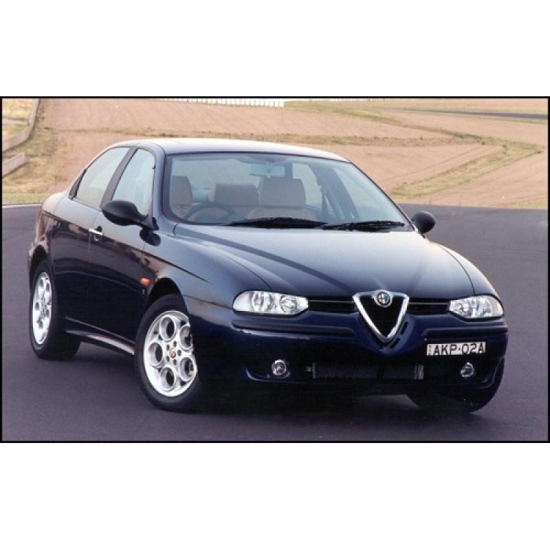 Tendine parasole oscuramento vetri tende auto Alfa Romeo 156 4p da 10-97 a 2-08