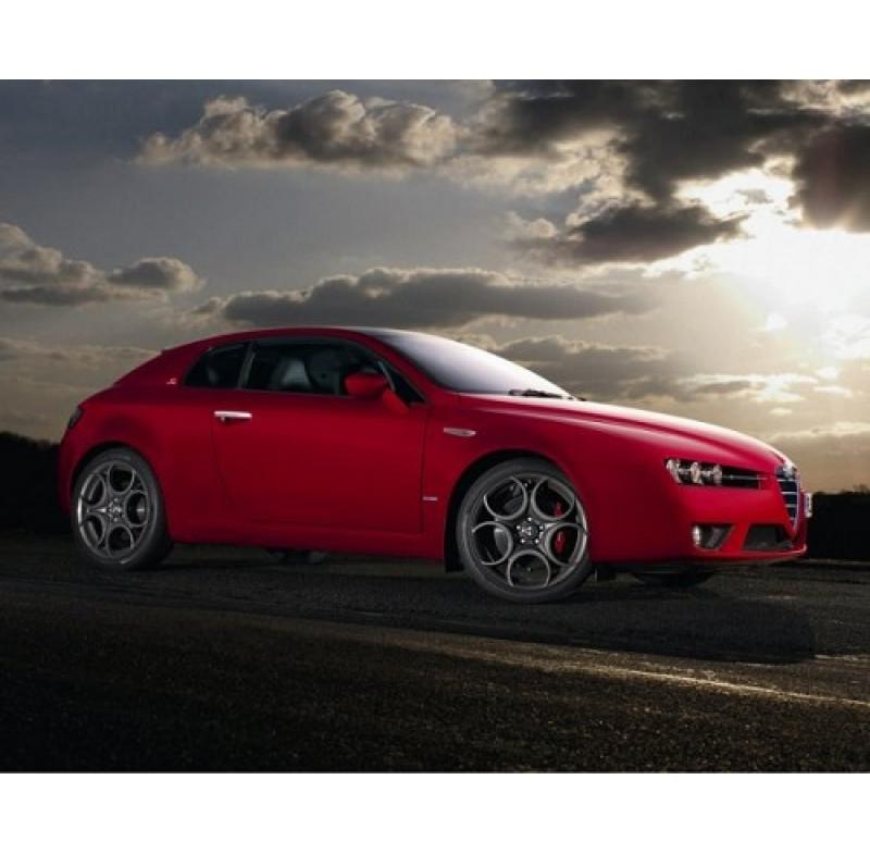 Tendine parasole oscuramento vetri tende auto Alfa Romeo Brera da 1-06 a 7-11
