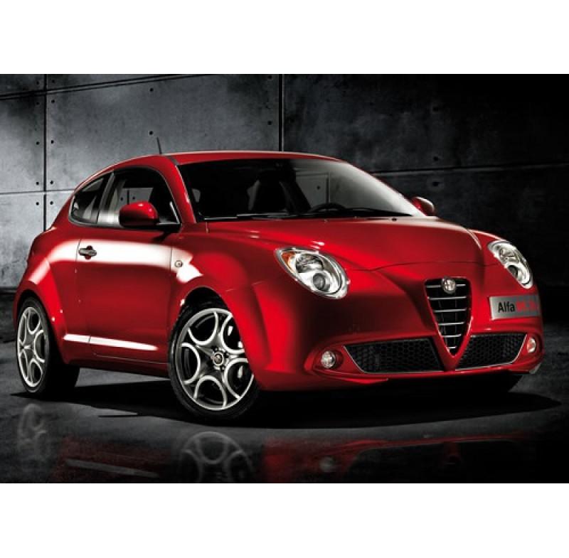 Tendine parasole oscuramento vetri tende auto PRIVACY Alfa Romeo Mito