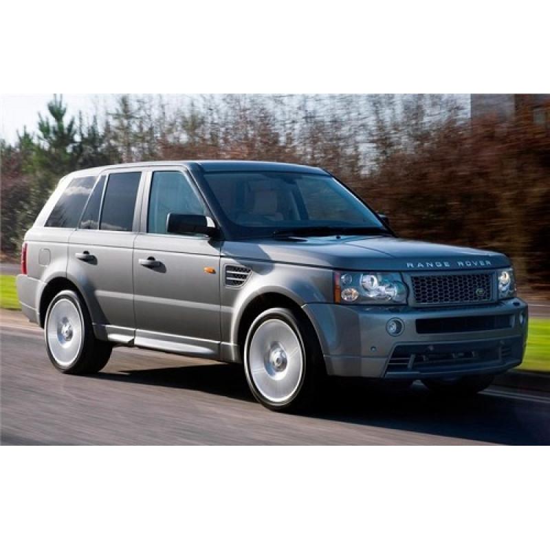 Tendine parasole oscuramento vetri tende auto Land Rover Range Rover Sport 2005