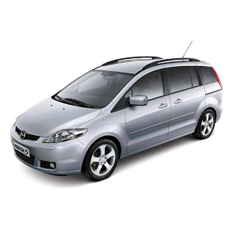 Tendine parasole oscuramento vetri tende auto Mazda 5 5 porte da 8-05 a 10-10