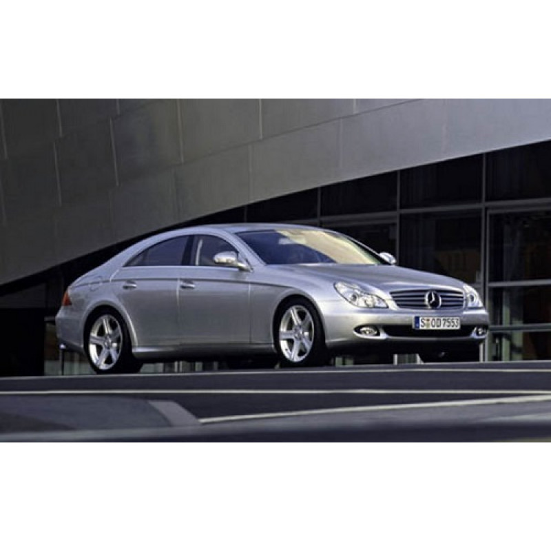 Tendine parasole oscuramento vetri tende auto Mercedes CLS da 10-04 a 11-10