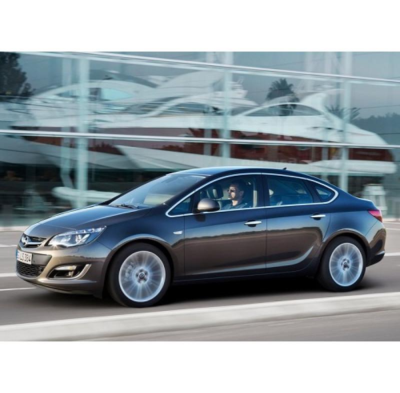 Tendine parasole oscuramento vetri tende auto Opel Astra J 4p da 9-12 in poi