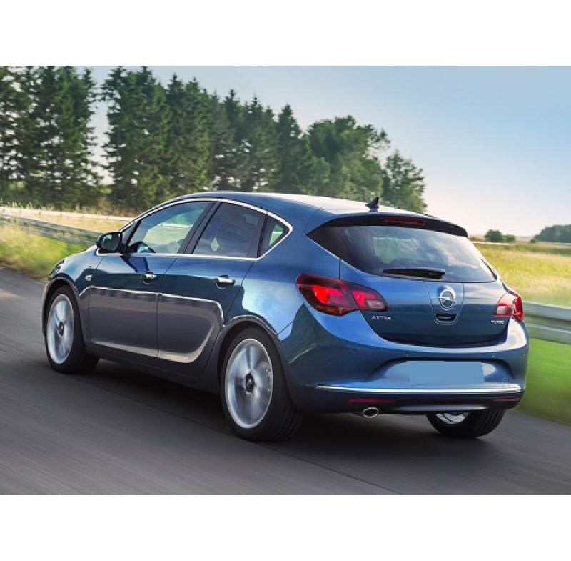 Tendine parasole oscuramento vetri tende auto PRIVACY Opel Astra J 5 porte