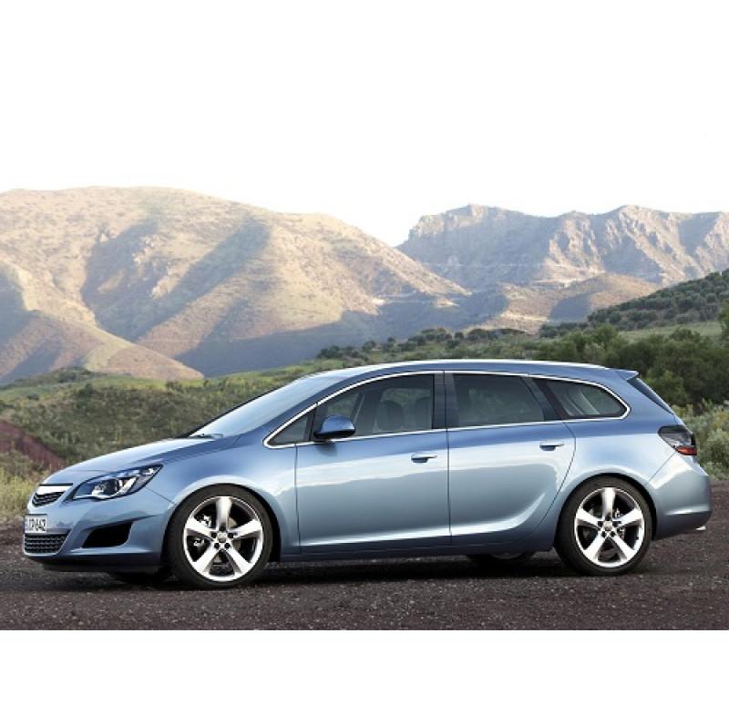 Tendine parasole oscuramento vetri tende auto PRIVACY Opel Astra J Sport Tourer