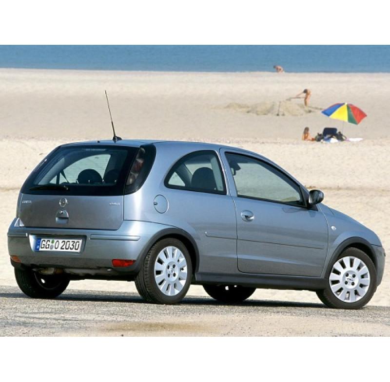 Tendine parasole oscuramento vetri tende auto Opel Corsa 3 porte da 10-00 a 8-06