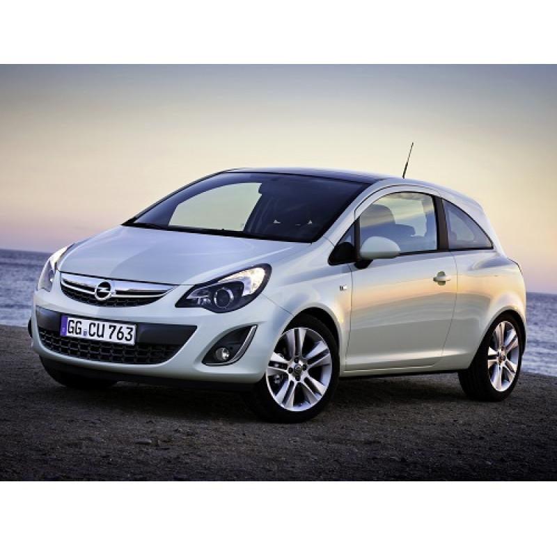 Tendine parasole oscuramento vetri tende auto Opel Corsa 3 porte da 9-06 a 11-14