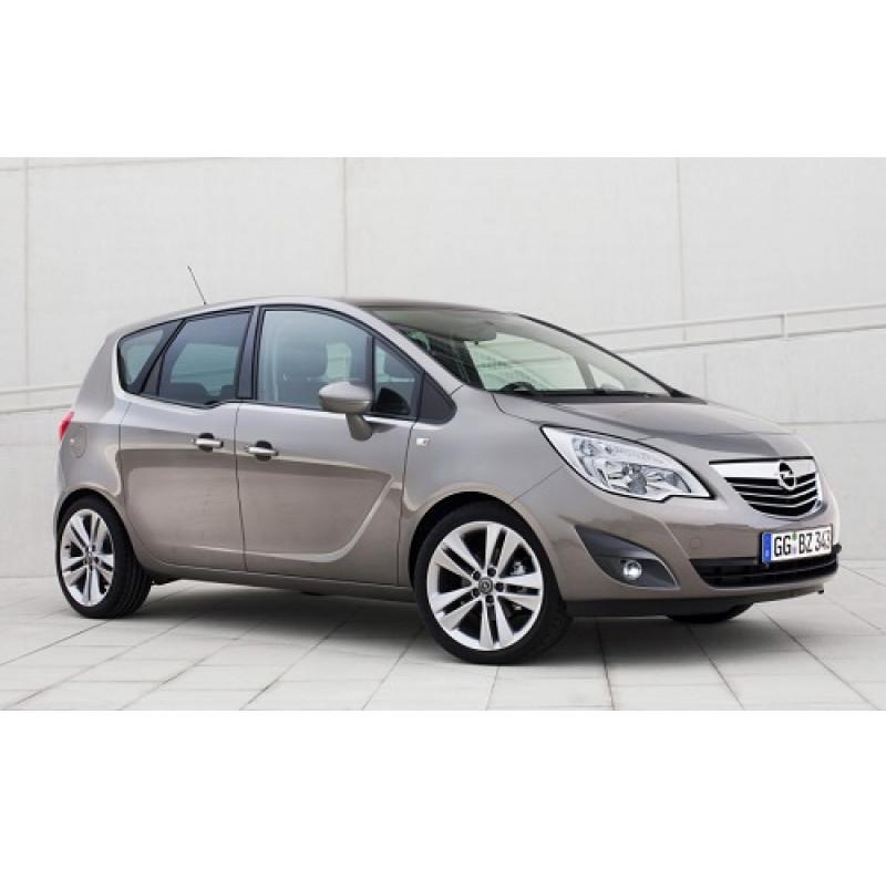 Tendine parasole oscuramento vetri tende auto PRIVACY Opel Meriva