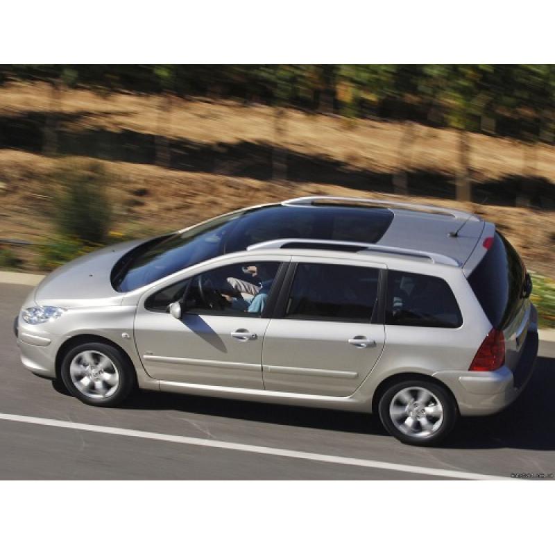 Tendine parasole oscuramento vetri tende auto Peugeot 307 SW da 5-02 a 4-08